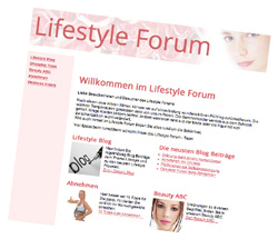 Lifestyle Forum